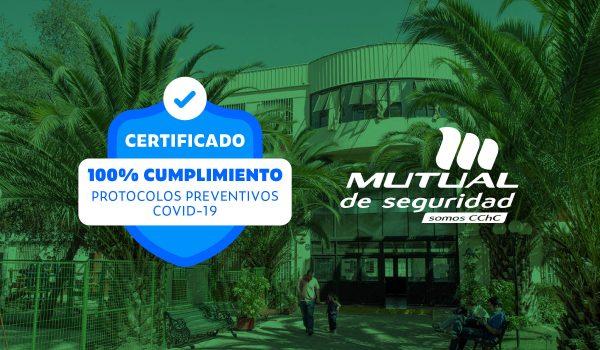 Colegio Sebastián Elcano Recibe Sello Mutual de Seguridad Covid-19
